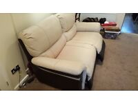 Scs Endurance Saturn 3 Seat Sofa fully reclining RRP £1899 10 Months old