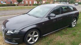 2009 Audi A4 Avant S Line Full Black Leather. Auto & Semi-Auto with Paddle Shift. Factory Xenons
