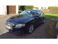 Audi A4 S-Line , Black, 6 CD Autochanger, good condition £2250 o.n.o.