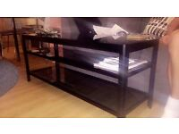 Black high gloss tv unit £35