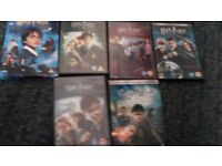 Harry potter / dr who collection.
