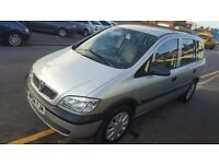 VAUXHALL ZAFIRA (04) 1.8 AUTOMATIC 1 YEAR MOT RECENTLY SERVICED