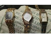 3 Ladies Vintage Watches £60