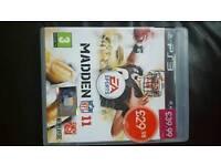 Madden 11 game