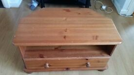 Wooden TV stand in mint condition