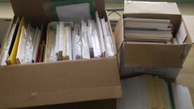 Large lot of blank cards and envelopes for card making various shapes and sizes