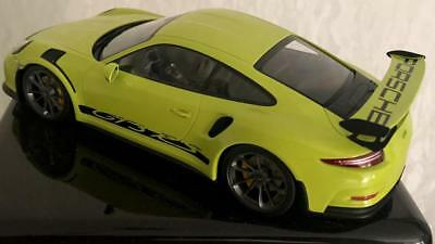 Porsche 991 911 GT3 RS Decals Nassschieber Spoiler Seite 1:18 Minichamps Autoart