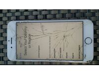 iphone 6s boxed broken glass
