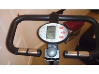York exercise bike and rower in one