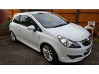 Vauxhall Corsa in White