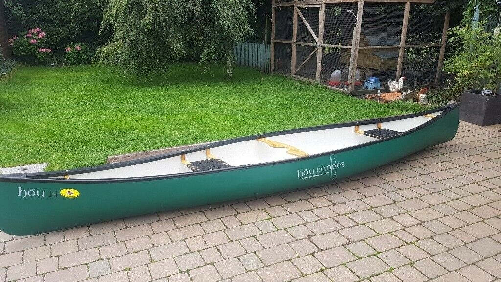 Hou 14 Canoe for sale  Immaculate and hardly used Hou 14 canadian canoe for  sale | in Preston, Lancashire | Gumtree