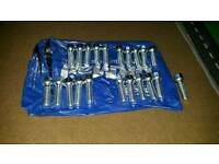 Set of bolts M14 for alloys 21 bolts