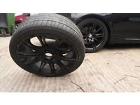 BMW 18ich M tech Alloy wheels with tyres x4