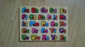 Baby alphabet toy