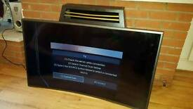 "Samsung 50"" smart curved tv faulty screen"