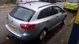 Seat Ibiza TDI S , Estate, 2011, Full Service History, only 42000 miles, like new. Manua, Disea