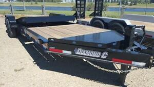 2016 Diamond C 48 HDT LP-20 Equipment Hauler Trailer