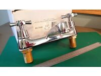 Silver Coloured Mixer Taps - Brand New