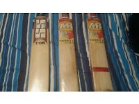 Brand New Unused Cricket Bats For Sale!