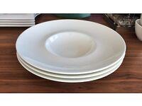 Set of 3 - Villeroy & and Boch AMANTI dessert / soup bowl 28.5cm