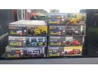 Revell 1:24 F1 car kits