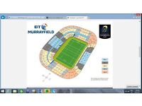 ERC Rugby Cup Final 2017 Murrayfield - Saracens V Clermont