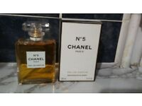chanel 5 perfume never used