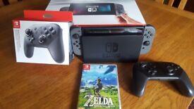 Nintendo switch pro bundle