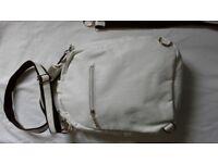Vascara ladies white handbag