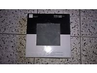 Natural stone black slate floor tiles x 35