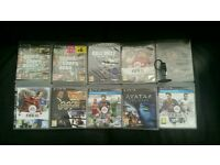Ps3 games and Sony headset
