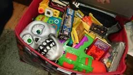 Bundle of toys/Games/ nerf gun/ car boot items