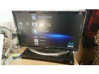 Sony Blu-ray player with remote and HDMI cable
