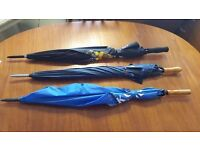 TWO Golfing Umbrellas in Good Condition