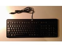 HP QY776AA USB Standard Keyboard PC / Mac, Keyboard - QWERTZ Layout