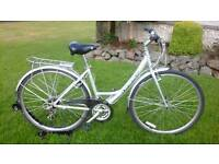 LADIES GIANT EXPRESSION STEP THROUGH HYBRID BIKE * FULLY SERVICED / SUPER CONDITION *