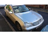 Mercedes C180 2003 MOT 12MONTHS family car.