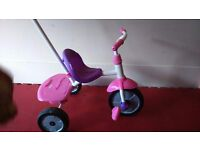 Girl's trike in pink. Fisher price.