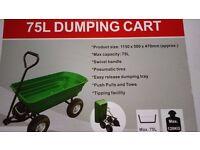 Garden Trolley 75L