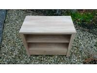 Tv unit in light wood