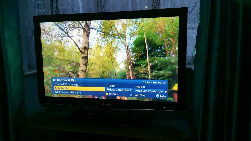 "46"" Aquos LCD TV"