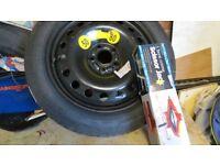 Volvo V60 Spare Wheel