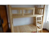 Bunk beds bespoke handmade solid hardwood you wont find another like this one !!
