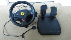 Thrustmaster Ferrari GT 3 in 1 racing wheel