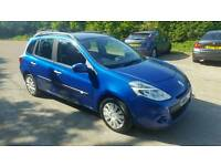 2009 renault clio estate 1.5 dci long mot road tax £30