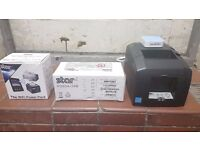 Star Micronics LAN Printer with Wifi Router and Power Pack