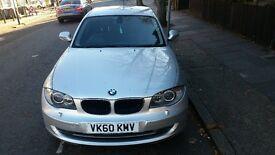 BMW 1 series, 2010,1.8 diesel, manual, silver