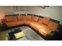 8 seater corner sofa - SWAP FOR FABRIC CORNER SOFA IF POSSIBLE