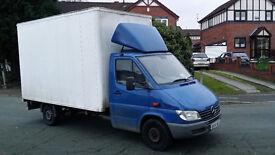 Mercedes Benz Sprinter Luton Box Van Ready For Work