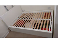 Ikea Malm Ottoman Double Bed used - important: collection only 9th or 10th of december